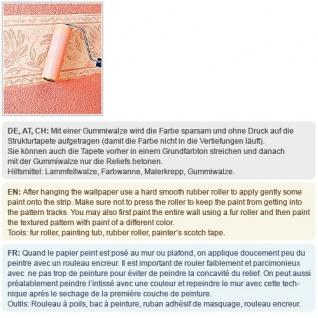 Struktur Tapete EDEM 375-60 Überstreichbare Vliestapete mit Struktur dekorative Stoff Textur geometrische Textil-Fasern 26, 50 qm - Vorschau 5