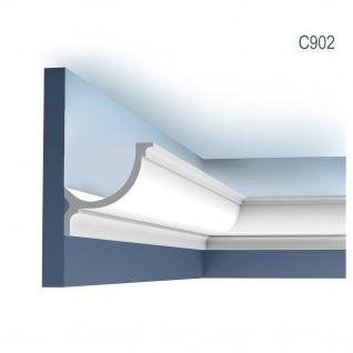 Stuck Eckleiste Orac Decor C902 LUXXUS für indirekte Beleuchtung Profilleiste Gesims | 2 Meter