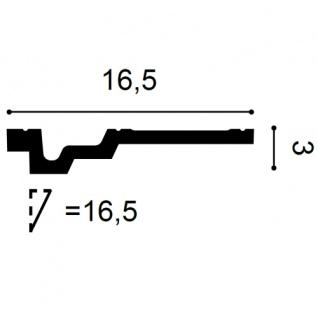 Dekor Profil Orac Decor C353 LUXXUS Eckleiste Zierleiste Decken Stuck Leiste Dekorleiste Gesims Profilleiste | 2 Meter - Vorschau 2