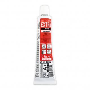 Montagekleber für Profil Stoßstellen und Nahtverbindung innen und außen Orac Decor FX210 DecoFix Extra Tube 80 ml