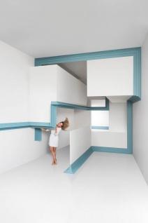 Eckleiste Orac Decor C393 MODERN STEPS Zierleiste Modernes Design weiß 2m - Vorschau 5