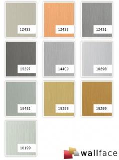 Wandverkleidung Design Platte WallFace 15452 DECO EyeCatch Metall Wand Dekor selbstklebende Tapete edelstahl grau   2, 60 qm - Vorschau 2