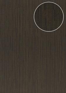 Edle Uni Tapete Atlas COL-497-1 Vliestapete glatt mit Streifen schimmernd anthrazit grau-blau bronze 5, 33 m2