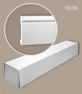 Profhome 153108 1 Karton SET mit 16 Sockelleisten Zierleisten Stuckleisten | 32 m