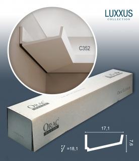 Orac Decor C352 LUXXUS 1 Karton SET mit 8 Stuckleisten | 16 m