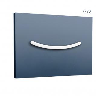 Stuckgesims von Orac Decor G72 Smile Ulf Moritz LUXXUS Zierelement Stuckprofil klassisches Wand Dekor Element weiß