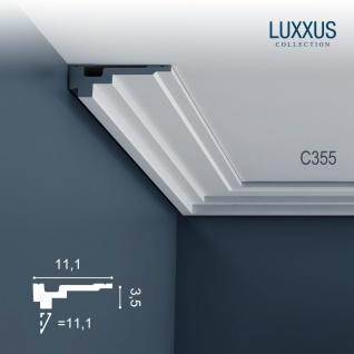 Dekor Profil Orac Decor C355 LUXXUS Eckleiste Zierleiste Stuck Leiste Dekorleiste Gesims Decken Profilleiste | 2 Meter