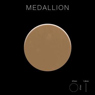 Mosaik Fliese massiv Metall Titan hochglänzend in kupfer 1, 6mm stark ALLOY Medallion-Ti-AM 0, 73 m2 - Vorschau 2