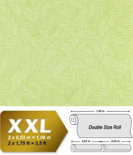 Grafik Vliestapete EDEM 913n-28 XXL abstraktes Flechtwerk-Muster hochwertige Design Tapete apfelgrün mint 10, 65 qm