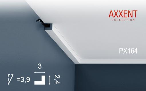 Orac Decor PX164 AXXENT 1 Karton SET mit 55 Wandleisten Zierleisten | 110 m - Vorschau 2