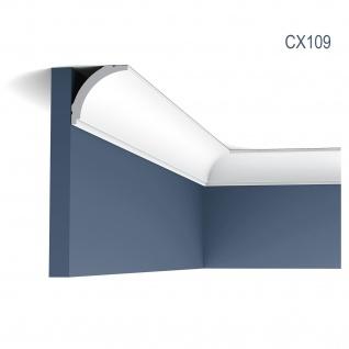 Zierleiste Profilleiste Orac Decor CX109 AXXENT Stuck Profil Eckleiste Wand Leiste Decken Leiste 2 Meter
