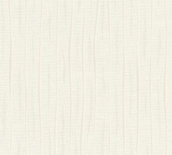 Streifen Tapete Profhome 364742-GU Vliestapete leicht strukturiert mit Streifen matt creme 5, 33 m2