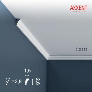 Zierleiste Profilleiste Orac Decor CX111 AXXENT Stuck Profil Eckleiste Wand Leiste Decken Leiste | 2 Meter