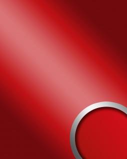Wandpaneel Spiegel Dekor Glanz-Optik WallFace 13807 DECO FASHION Design Wandverkleidung selbstklebend sexy rot | 2, 60 qm