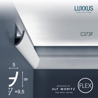 Flexible Zierleiste Orac Decor C373F Antonio S Ulf Moritz LUXXUS Eckleiste indirekte Beleuchtung Profilleiste 2 Meter