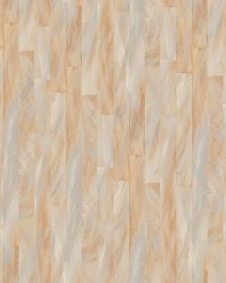 Streifen Tapete Profhome VD219142-DI heißgeprägte Vliestapete geprägt mit Streifen dezent schimmernd beige hell-elfenbein 5, 33 m2