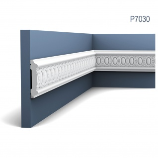 Friesleiste Stuck Orac Decor P7030 LUXXUS Wandleiste Zierleiste Stuck Dekor Profil detailscharfes Relief 2 Meter