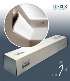 Orac Decor C371 LUXXUS 1 Karton SET mit 8 Eckleisten Stuckleisten | 16 m