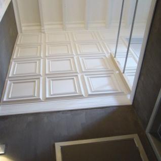 3D Wand Paneel Zierelement Orac Decor F30 LUXXUS Deckenplatte Deckenpaneel für Tür oder Decke Polyurethan | 60 x 60 cm - Vorschau 3