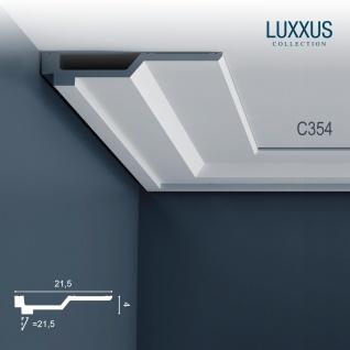 Dekor Stuckleiste Profil Orac Decor C354 LUXXUS Eckleiste Zierleiste Decken Stuck Leiste Gesims Profilleiste 2 Meter