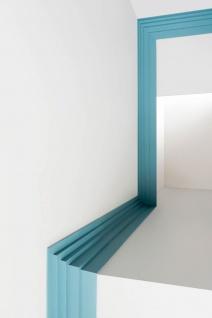 Eckleiste Orac Decor C393 MODERN STEPS Zierleiste Modernes Design weiß 2m - Vorschau 4