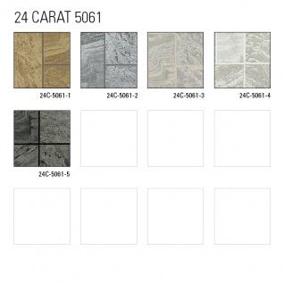 Stein-Kacheln Tapete Atlas 24C-5061-3 Luxus Vliestapete strukturiert in Steinoptik und metallischen Akzenten beige elfenbein weiß silber 7, 035 m2 - Vorschau 4