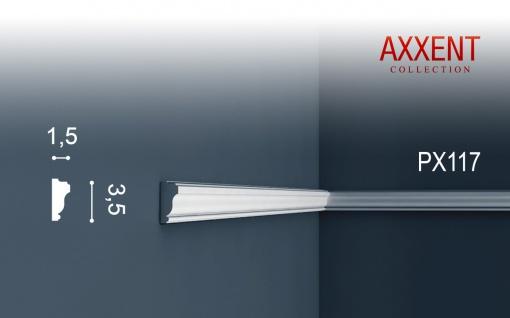 Orac Decor PX117 AXXENT 1 Karton SET mit 32 Wandleisten Zierleisten | 64 m - Vorschau 2