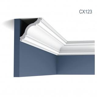Zierleiste Profilleiste Orac Decor CX123 AXXENT Stuckleiste Stuck Profil Eckleiste Wand Leiste Decken Leiste 2 Meter