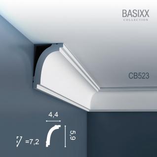 Orac Decor CB523 BASIXX 1 Karton SET mit 10 Stuckleisten Eckleisten | 20 m - Vorschau 2