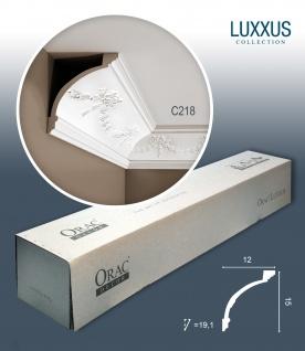 Orac Decor C218 LUXXUS 1 Karton SET mit 12 Eckleisten Stuckleisten | 24 m