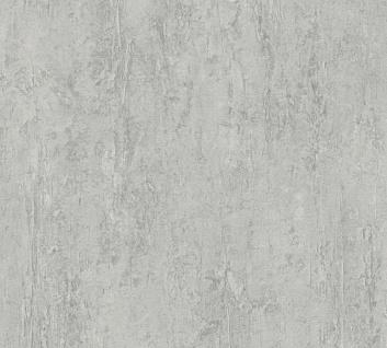 Stein Kacheln Tapete Profhome 306694-GU Vliestapete strukturiert in Steinoptik matt grau 5, 33 m2