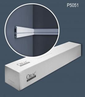 Orac Decor P5051 LUXXUS 1 Karton SET mit 18 Wandleisten Zierleisten | 36 m - Vorschau 1