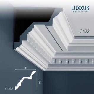 Stuck Zierleiste Orac Decor C422 LUXXUS leiste Eckleiste profil Deckenleiste Gesims 2 Meter