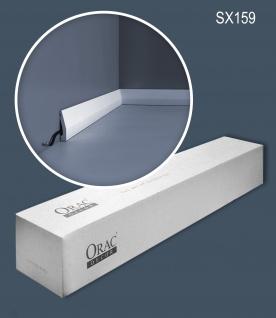 Orac Decor SX159-box 1 Karton SET mit 36 Sockelleisten Wandleisten 72 m