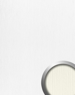 Wandpaneel Kunststoff Relief-Struktur WallFace 15770 TOUCH Wandverkleidung selbstklebend weiß | 2, 60 qm