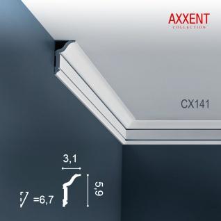 Stuckleiste Zierleiste Profilleiste Orac Decor CX141 AXXENT Kantenleiste Stuck Eckleiste Wand Decken Leiste 2 Meter