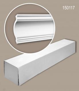 Profhome 150117 1 Karton SET mit 8 Eckleisten Zierleisten Stuckleisten | 16 m