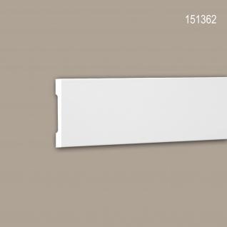 Wand- und Friesleiste PROFHOME 151362 Stuckleiste Zierleiste Friesleiste Modernes Design weiß 2 m