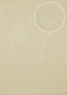 Uni Tapete Atlas TEM-5112-3 Vliestapete strukturiert in Spachteloptik matt elfenbein creme-weiß perl-weiß beige 7, 035 m2