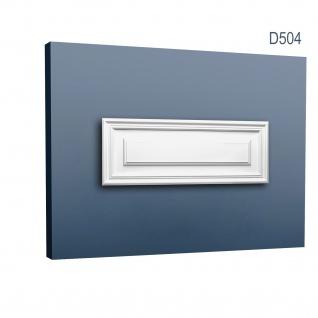 Türaufdopplung abgeplattet von Orac Decor D504 LUXXUS Wand Paneel Dekor Element Verkleidung Kunstoffplatte weiß