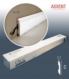 Orac Decor SX165 AXXENT 1 Karton SET mit 16 Eckleisten Stuckleisten | 32 m