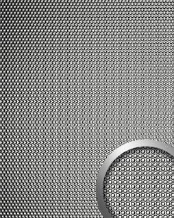 Wandplatte 3D Runddekor geprägt Paneel selbstklebend WallFace 17239 RACE Wandpaneel Design silber grau glänzend 2, 60 qm