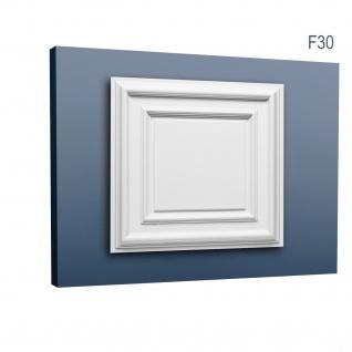 3D Wand Paneel Zierelement Orac Decor F30 LUXXUS Deckenplatte Deckenpaneel für Tür oder Decke Polyurethan 60 x 60 cm