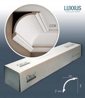 Orac Decor C338 LUXXUS 1 Karton SET mit 10 Stuckleisten | 20 m