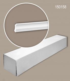 Profhome 150158 1 Karton SET mit 20 Eckleisten Zierleisten Stuckleisten   40 m