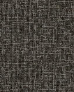 Textiloptik Tapete Profhome DE120116-DI heißgeprägte Vliestapete geprägt in Textiloptik matt anthrazit grau 5, 33 m2
