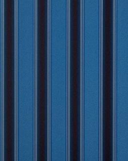Streifen Tapete EDEM 827-24 hochwertige geprägte Tapete barock opulence opulence blau königsblau dunkelbraun gold 70 cm