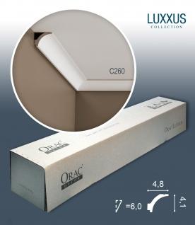 Orac Decor C260 LUXXUS 1 Karton SET mit 25 Eckleisten Stuckleisten | 50 m - Vorschau 1