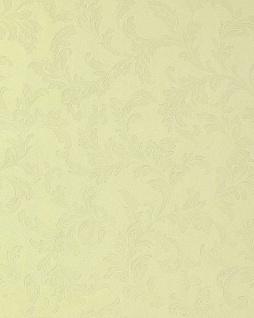 Blumen Tapete EDEM 762-28 Blumentapete Floral geprägte ton-in-ton hochwertige Struktur luxus Pastell-gelb elfenbein