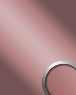 Wandpaneel Spiegel Design Glanz-Optik WallFace 12428 DECO ROSE Wandverkleidung abriebfest selbstklebend rosa 2, 60 qm